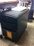 Even the filing cabinets have soft seating!