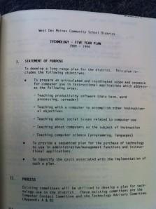 1989 Tech Plan