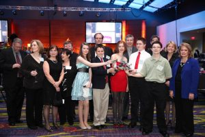 Students from Ruth Henderson's HyperStream group were recognized at the state Prometheus Awards ceremony recently.