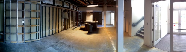 Front Lobby, looking towards what was the old front desk.