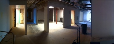 What will become the district registrar's office.