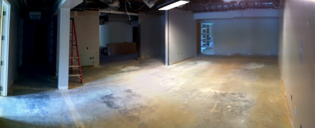 In HR, looking back towards where the front desk used to be..