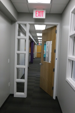 Door between HR and Community Ed