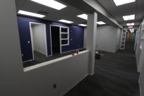 Human Resources... looking towards the new private office area.